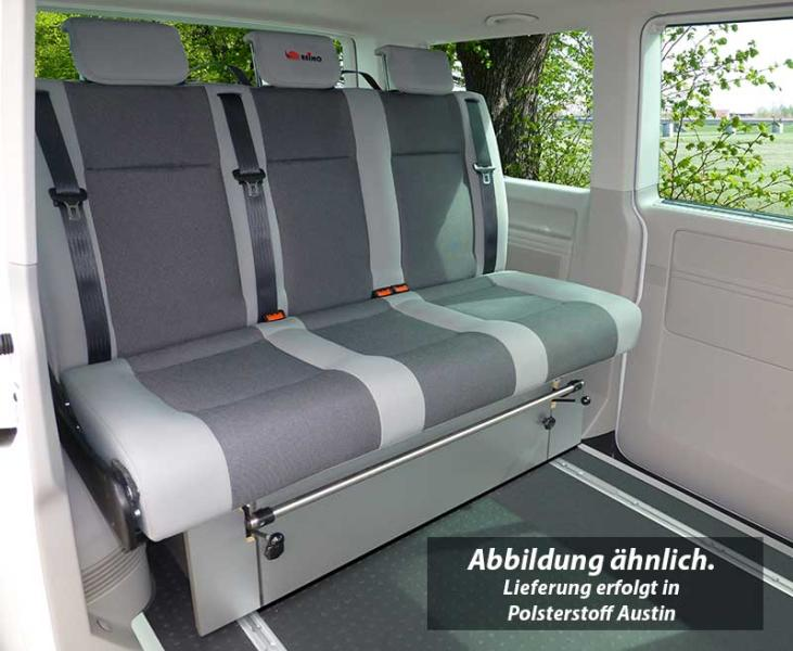 Full width Rock and Roll Bed Transit New 3 section design  VWT5,T4 Vito,Vivaro