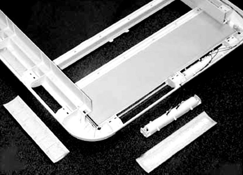 Heki 2 Dachhaube Ersatzglas ohne Anbauteile