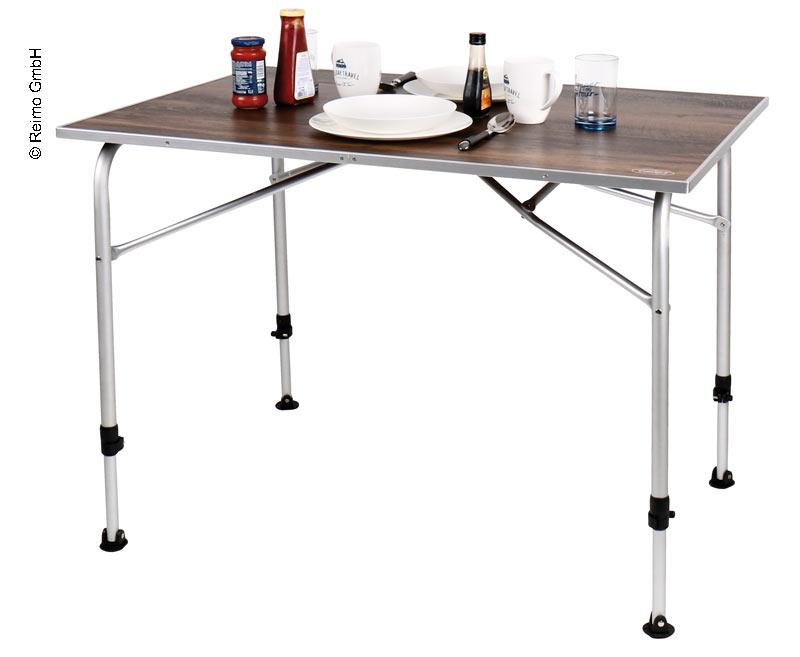 Tavoli Da Campeggio Pieghevoli In Legno.Tavolo Da Campeggio Levi 100x68x59 72cm Design In Legno Nobile