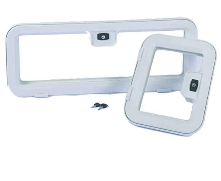 Kofferklappe 800x300 Kunststoff weiß