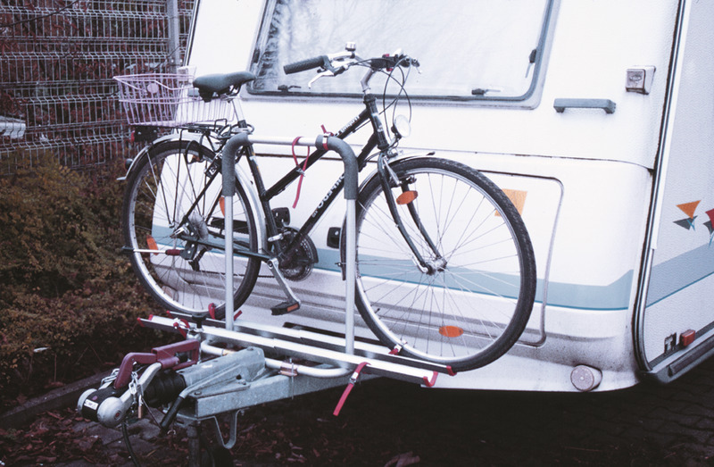 Caravan towbar carrier Polo for 2 bicycles