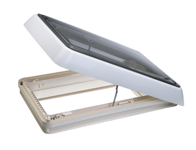 Midi Heki, Dometic Rooflight 40x70 with crank handle and forced ventilation