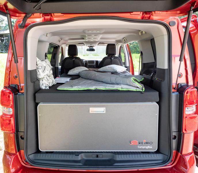 Bettaufsatz für Campingbox M