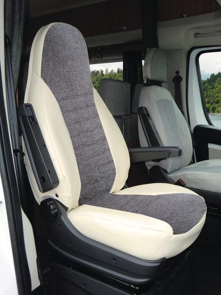 Schonbezüge VAN Kleinbus 8-Sitzer KUNSTLEDER Renault Trafic