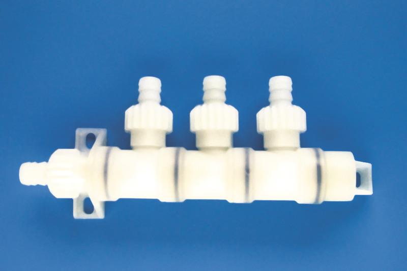 Systemverbinder X-Fix 10mm Verteiler 3-Abgänge