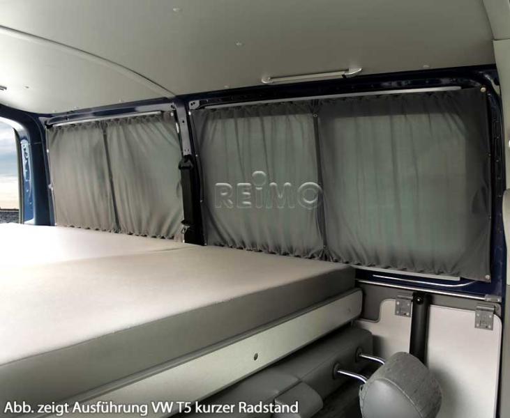 Gardinenset blickdicht für Ford Transit Custom