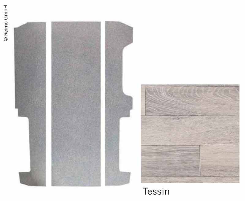 Bodenplatte Ren/Opel/Fiat,Nissan 3-tlg.LR ab 2015,673mm Schienenab.Dekor Tessin