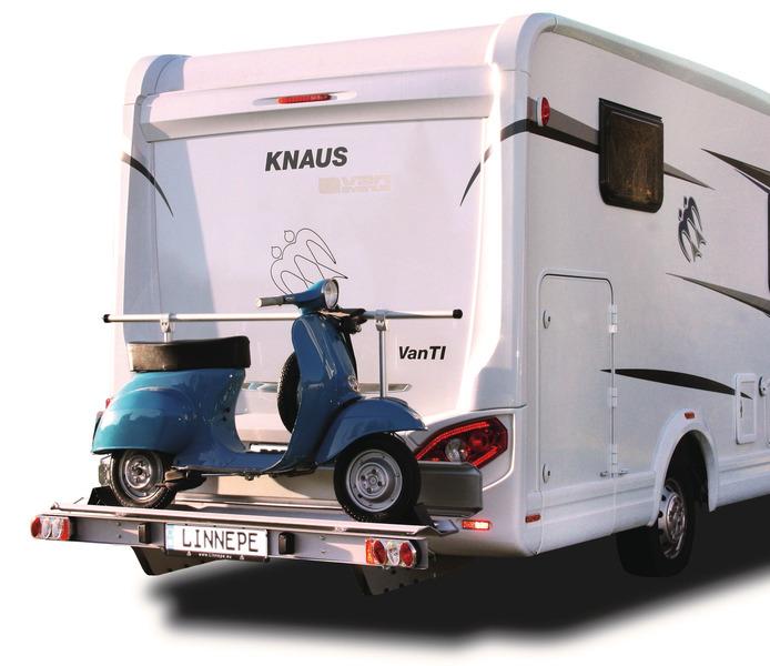 Porte-moto pour camping-car