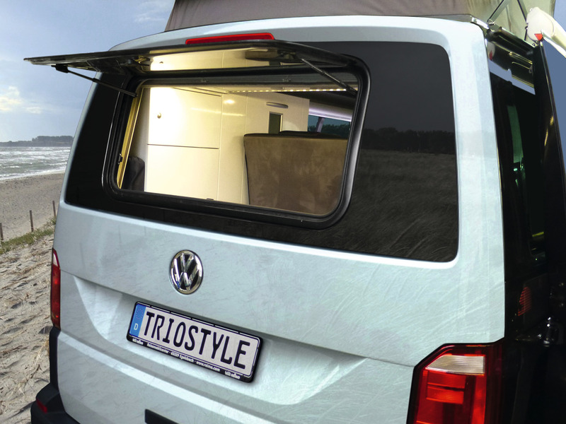 Heckfenster 960x450 mm für VW T6, S7P 5000 Ausstellfenster