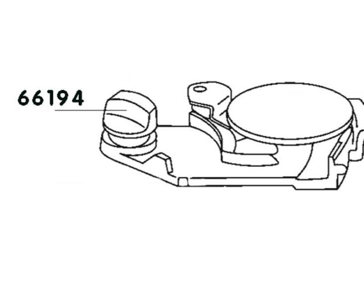 Schieb.Knauf Abw.tankC200