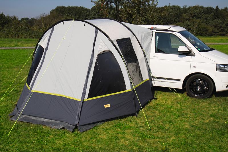 Busvorzelt Tour Compact Tunnelzelt für Minicamper und Van