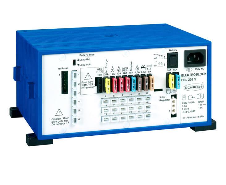 Strömaggregat 208S med displaypanel LT420