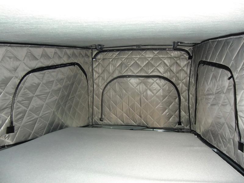 Isolation thermique pour toit pliant VWT5 court