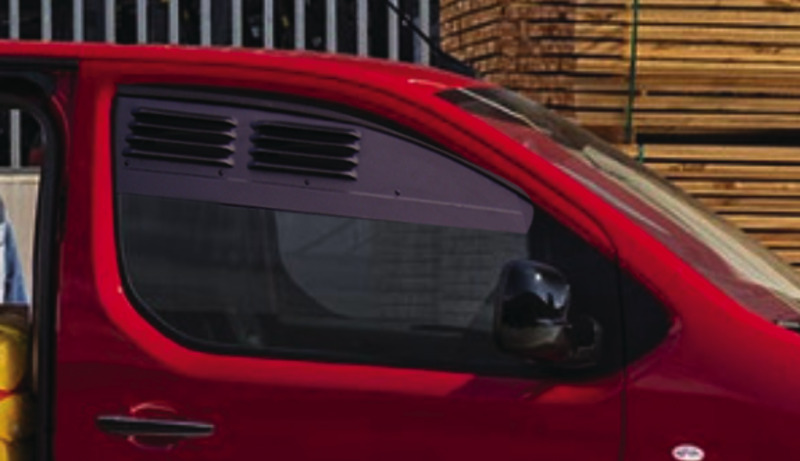 Grille de ventilation pour cabine Citroen Jumpy+Peug.expert à partir d