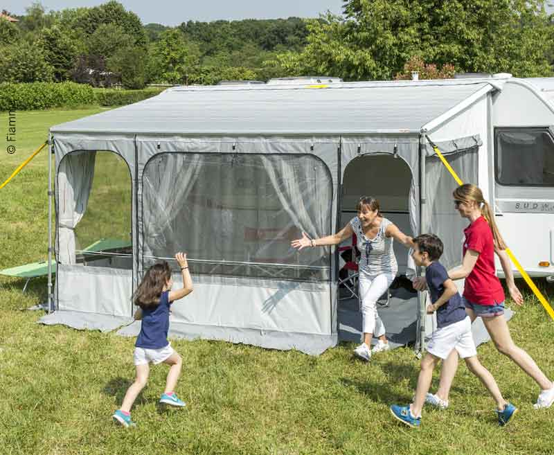 Caravanstore Zip-Markise/Fodderal with awning | Awnings ...