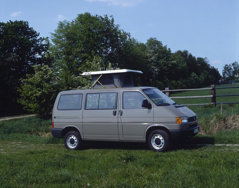 T4 Hubdach für VW, Superflach 2, weiß