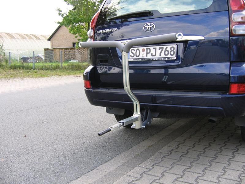 E-Bike Träger, Motorrollerträger für AHK, 120kg Nutzlast
