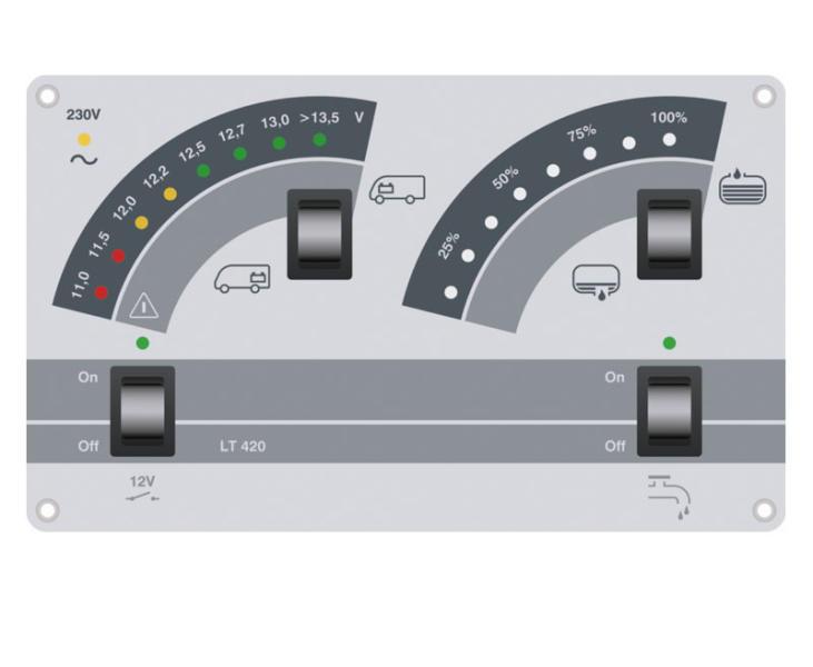 Anzeigepanel LT420 für Reimo Nr. 800031