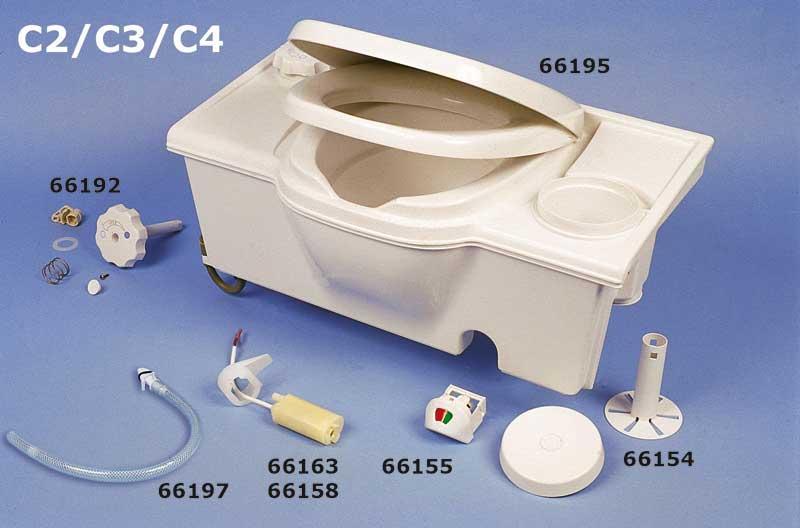 Flushing pump for PP cassette