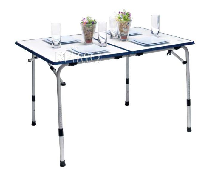Table de camping Grenada, pliable 120x80cm