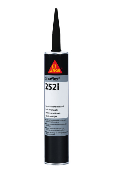 Sikaflex 252i, speciale lijm, zwart, 300ml