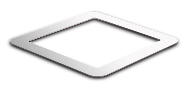 Adapterrahmen für Dachklimaanlagen u.Dachfenster, Ausschnitt größer als 40x40cm