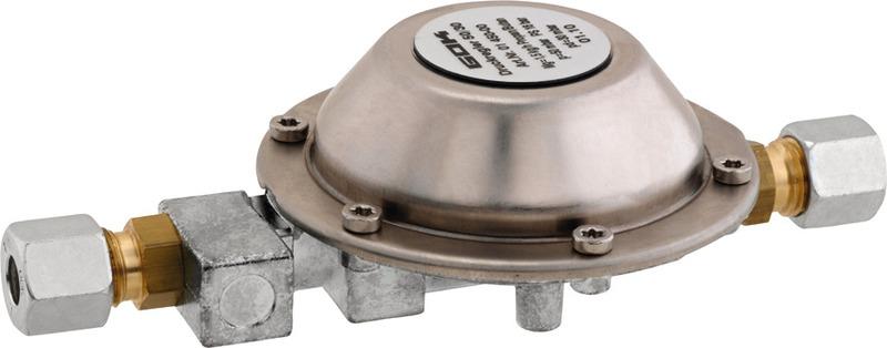 Druckregler Druckminderer für Caravan Wohnmobil 30 mbar Gas Regler Propan 2019
