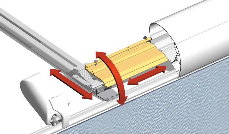 Mark-Montagesystem 1 6002/6502, 3 Schienen
