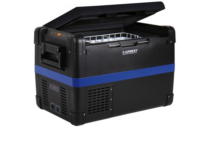 Kompressorkühlbox 12V/24V/230V, Carbest MaxiFreezer 60L