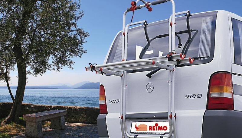 Cykel bageste bagage til Mercedes Vito (2 hjul)
