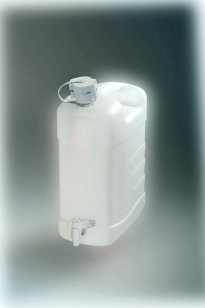 Combi-Frischw.bidon avec bec verseur extérieur et robinet de vidange 20l