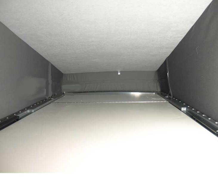 VW T6, VW T5 inner roof cladding for pop top roof Easy-Fit, SWB, blank