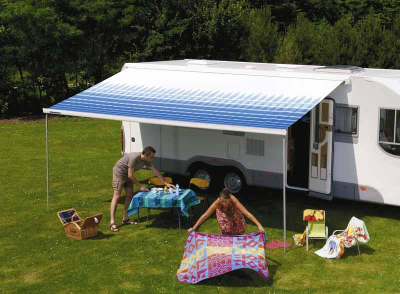 Thule Omnistor 8000 wall awning | Awnings for caravans ...