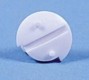 Knebelschraube für Winterabdeckung WA120/130, weiß. 1 Stück.