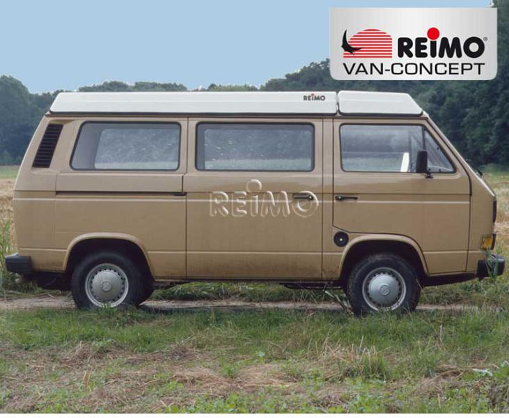 Luggage pan for pop top roof VW T3 (until 07/1990) product #20136