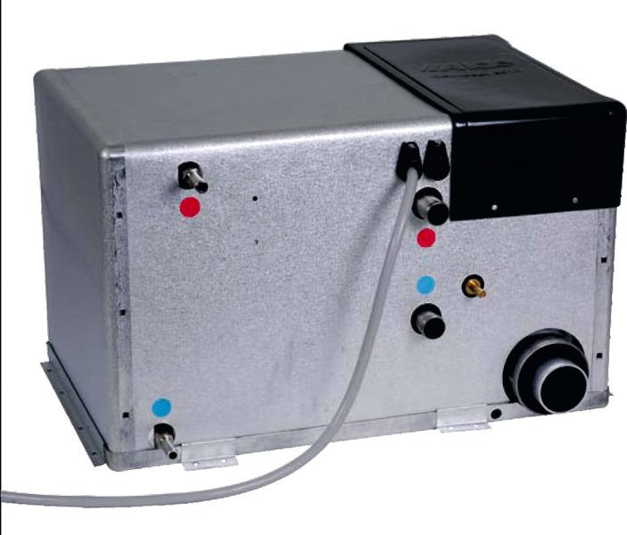 Alde Warmwasserheizung Compact 3020 3kW kpl. m.Wandkamin u. Zubehör