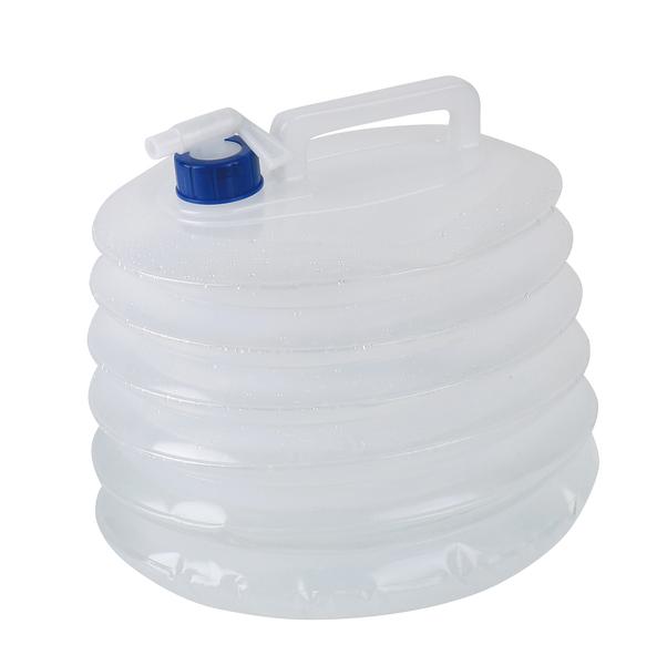 Contenitore d'acqua pieghevole, volume 15 litri