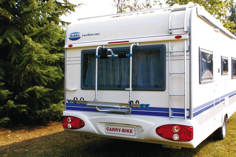 Caravan bagagerum f. Hobby fra 03 f. 2 hjul