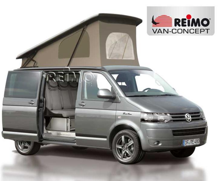 T5 Aufstelldach Easy Fit, VW T6, KR, Gurtverschluss, Klimahimmel