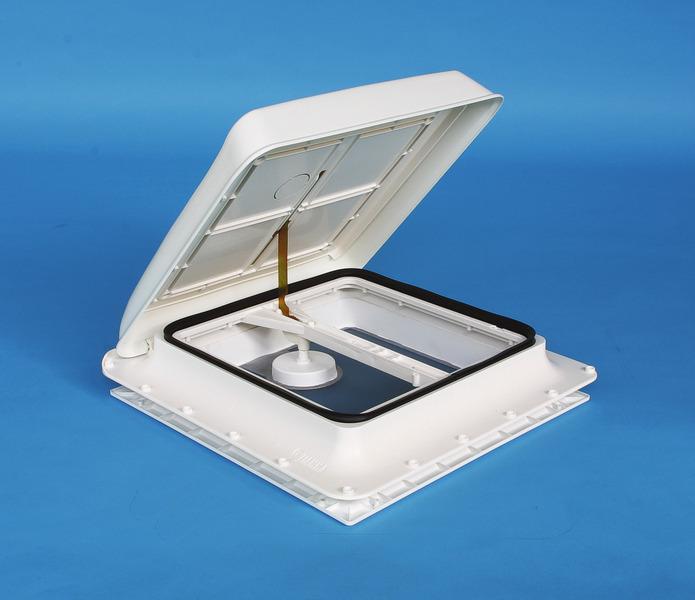 Fiamma Skylight 40x40 cm with crank handle, colour: white