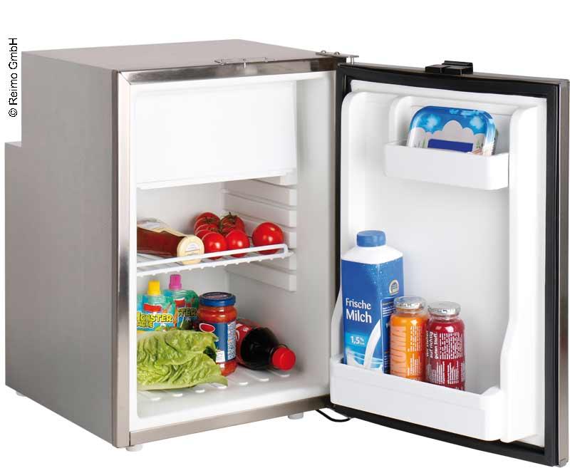 Réfrigérateur à compresseur 50L, compartiment congélateur, 12/24V, boîtier en ac