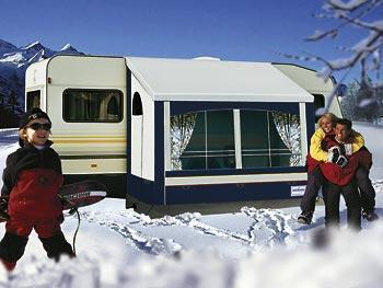 Winterzelt Kaprun
