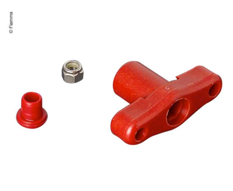 Locking screw M5 red