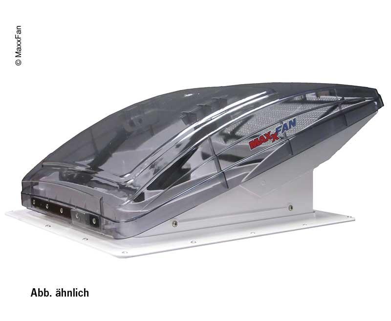 Campana intercambiable MaxxFan vidrio transparente, 40x40cm