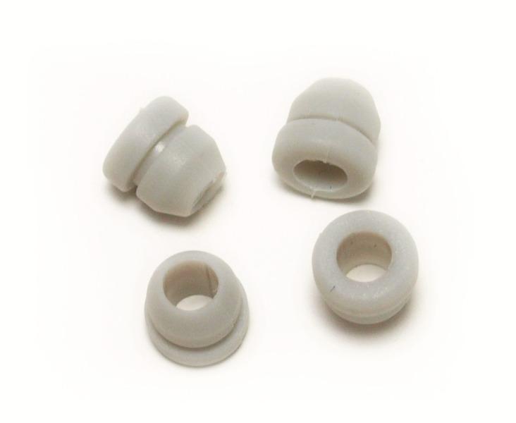 Bouchons de maintien, blancs, 4 pièces