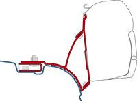Adapter FiammaKit VW T5/T6 Transporter Multivan