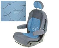 Sportscraft Sitz, Bezug Indivia blau
