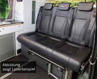 Schlafsitzbank VW T6/5 Weekender Plus V3000 Gr.14 3-sitzig, Leder 2fbg. Rechts.