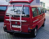 Fahrradheckträger für VW-T4 Heckklappe für 2 Fahrräder
