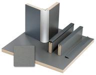 Meubelplanken antraciet metallic laminaat, HPL